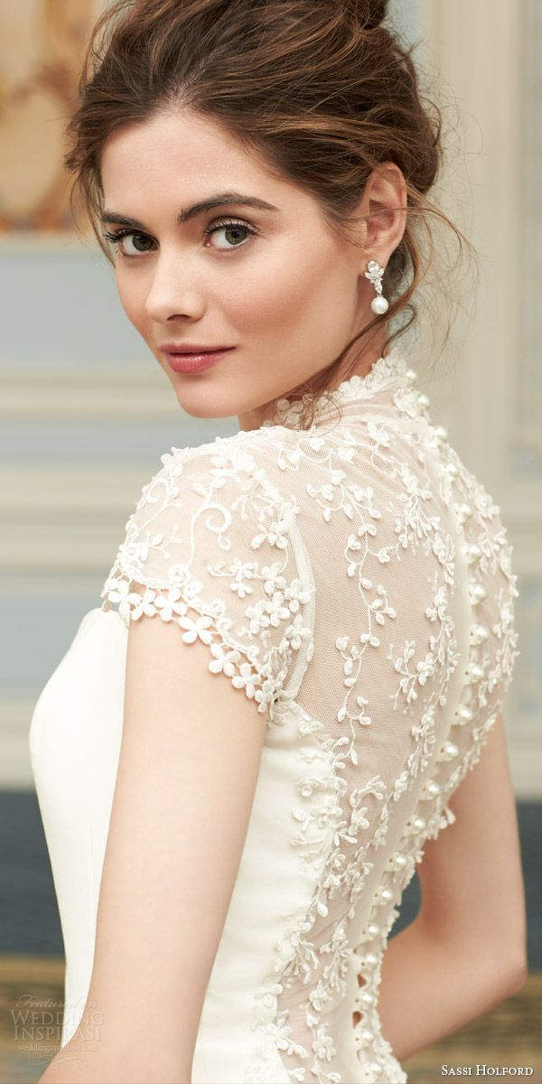 Sassi Holford 2015 Couture Wedding Dresses — Savoy Bridal Collection | Wedding Inspirasi