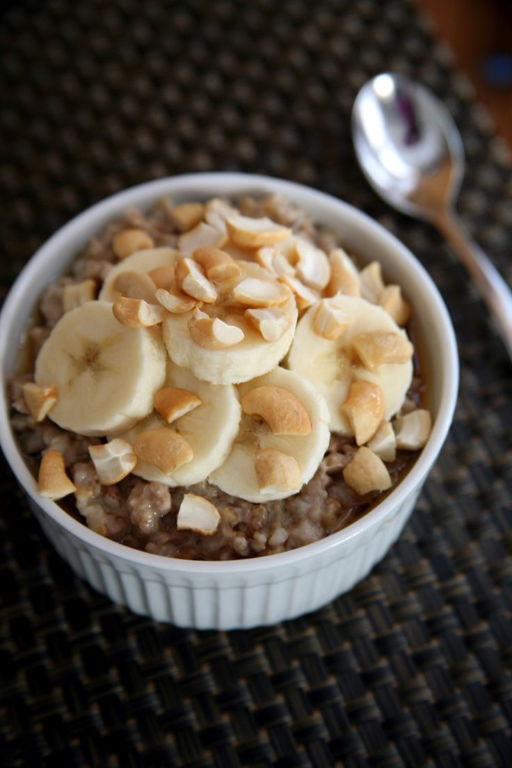This slow-cooker oatmeal recipe will start your mornings on a healthy note.