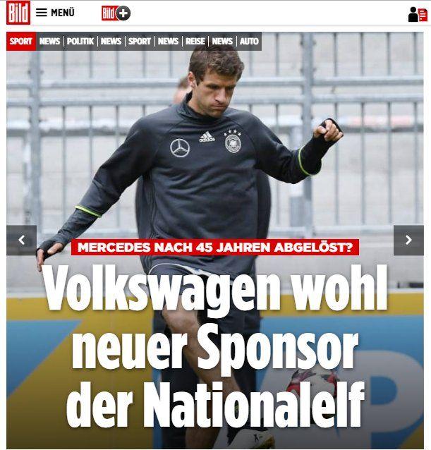 Great,if VW DFB/GER soccer sponsor(up to 30 Mio EUR) http://www.bild.de/sport/2017/nationalmannschaft/sport-eilmeldung-vw-neuer-hauptsponsor-dfb-52448018.bild.html http://www.faz.net/aktuell/wirtschaft/unternehmen/f-a-z-exklusiv-volkswagen-wird-hauptsponsor-des-dfb-15092900.html not penny-pinching+cursed Daimler(8 Mio)