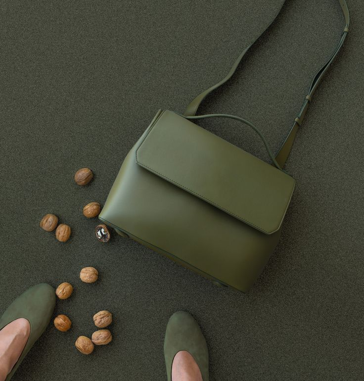 Convertible Flap Bag - Olive