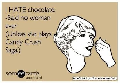Chocolate and candy crush