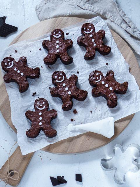 Gebrannte Haselnuss - Kirsch Scones & schnelle Brownie Lebkuchen Männcher | Meine Küchenschlacht