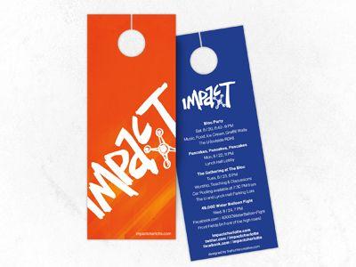 Door Hanger Graphic Design 19 best door hangers images on pinterest | target, the doors and