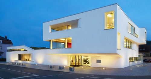 The Audiovisual Center in Oberkirch in Germany is the new brainchild of architectural firm Wurm + Wurm.
