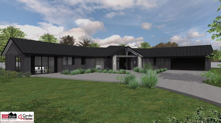 MATAI 315 - Sprawling, country style design; adaptable and multi-functioning with minor dwelling.  Design by Cavalier Homes Norwest.