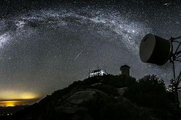 Andromeda and Meteors from Tobias Lookout  Gl,Stationsvej11,1,59 Randers sv Denmark Scandinavian Europe Joy Richard Preuss Horoscope