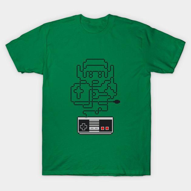 The Tangled Of Zelda T-Shirt - Legend of Zelda T-Shirt is $14 today at TeePublic!