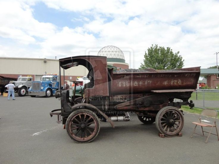 103 YEAR OLD TRUCK-That truck is 103 years old no joke!! It was used to haul coal back in 1909. Photo was taken at the National Truck Show with my dad