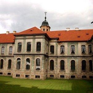 Plasy/ klášter / santini