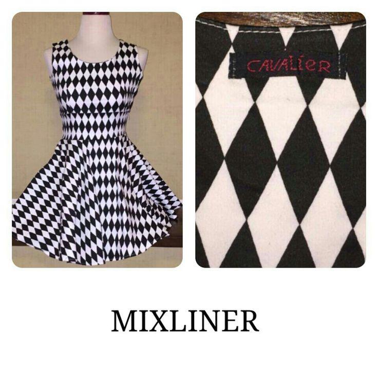 B&W Diamond CAVALIER mini dress size M *very good condition  For more details & order please contact : +6287888778-20(WhatsApp) 7E6B0456 (bbm)
