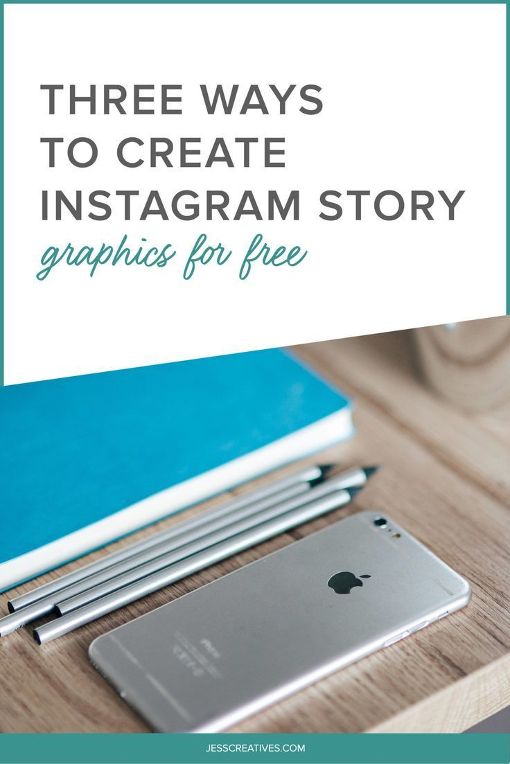 Three Ways to Create Instagram Story Graphics: While we love having pretty, themed Instagram feeds, Instagram stories just passed 250 million daily active users. Stories are a great way to show behind-the-scenes, and show the more personal side of your brand. But, that doesn't mean you can't also throw in some graphics! I'm going to show you three easy ways to create your own Instagram story graphics.