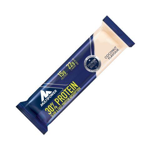 Suplimente Multipower. Baton proteic delicios cu crema de cocos cu 30% proteina