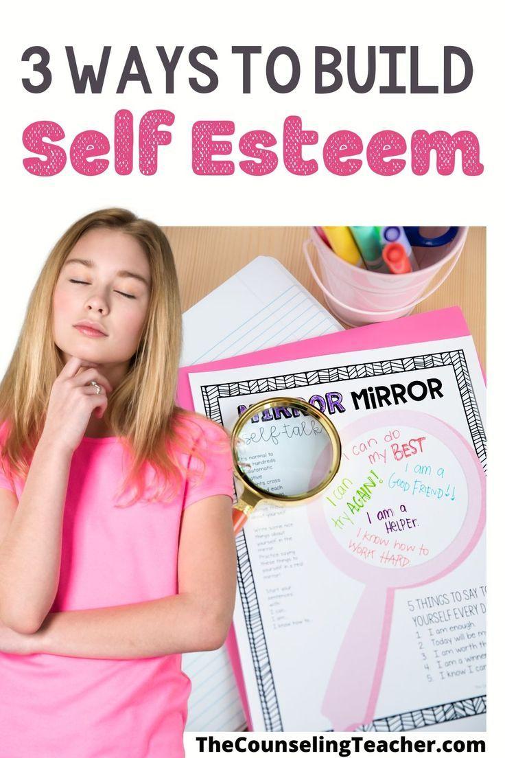 3 Ways To Build Self Esteem In Kids Self Esteem Activities Self Esteem Building Activities Counseling Blog [ 1104 x 736 Pixel ]