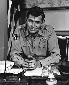 The Andy Griffith Show - Andy Griffith portrays a widowed sheriff in the fictional small community of Mayberry, North Carolina.