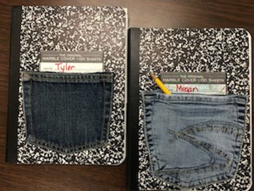 Pen and Pencil Pockets - The Daily Cafe