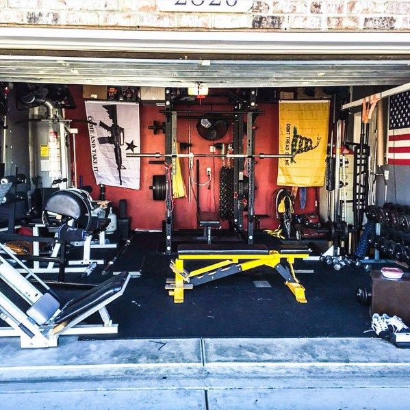 Top 75 Best Garage Gym Ideas Home Fitness Center Designs Home