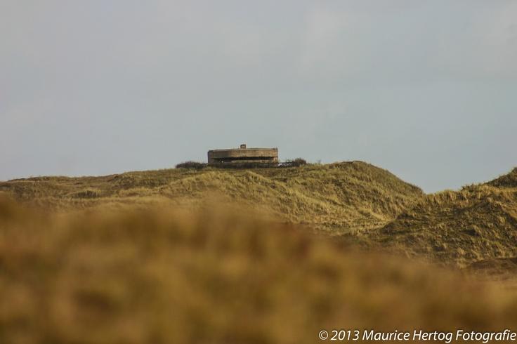 Ominous Bunker, Texel (NL)  Photo © Maurice Hertog Fotografie