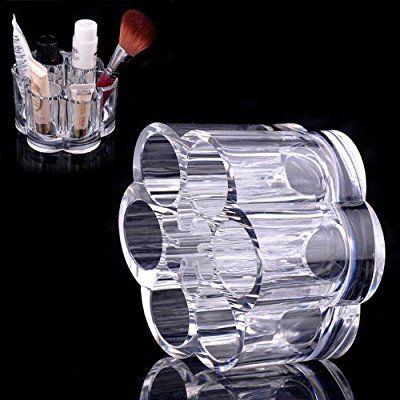 Amazon|Lutents コスメ 収納スタンド 化粧品透明アクリルケース 化粧品 口紅 小物入れ ディスプレイ収納ケース|収納ケース・ボックス オンライン通販