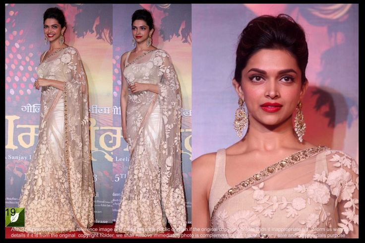 "Exclusive Indian Designer Wear Hot Bollywood Saree Sari Wedding Dress ETHNIC EHS #VihaanImpex #SareeSari ""Deepika Padukone Worn Exclusive Copper color over all heavy woolen suzankari embroidery work with  Price:US $101.99"