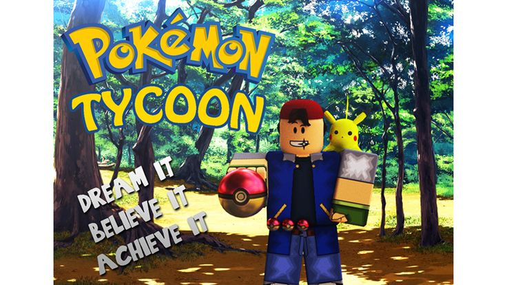 [SAVE-ABLE] Pokemon Tycoon! - ROBLOX
