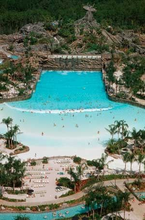 Disney World's Typhoon Lagoon...one of the best waterparks we have visited!!! You will NEVER get bored!