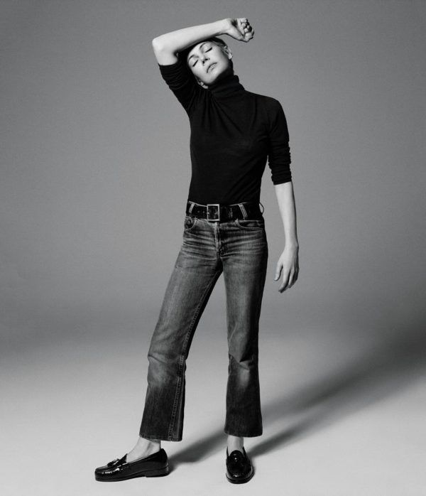 It's jumper weather right now and as there are only a couple of weeks of the year when a woman of my age can wear a roll neck, (without descending into a hot menopausal mess) I'm making the most of it. Michelle Williams looks the business in jeans and a jumper in the latest issueRead more