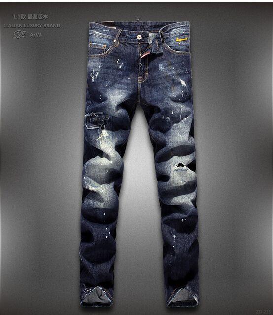 Мужчины в деним джинсы мужчины в прямой джинсы мужчины джинсы 28 - 36