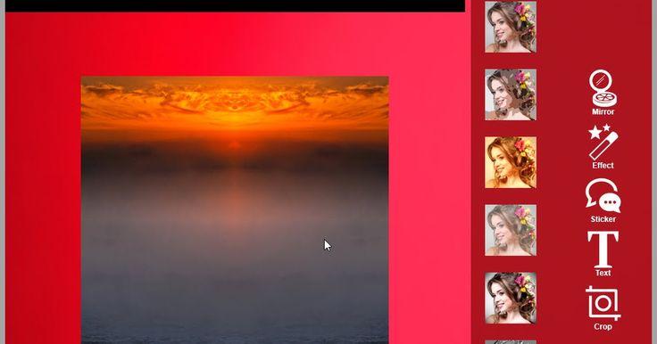 Δημιουργήστε μοναδικές εικόνες σας με περισσότερα από 22  εφέ αντανακλαστικά για εικόνες για τις προσωπικές φωτογραφίες. Προσθέστε υπέροχα εφέ και απλά αποθηκεύστε τις ή μοιραστείτε τις. Συμβατή με όλους τους τύπους συσκευών όπως tablet pcs και smartphones.  Χαρακτηριστικά  Περισσότεροι από 22 δυναμικοί καθρέφτες για την παραγωγή εικόνων.  Προσθέστε πολλά φίλτρα και εφέ όπως σέπια αρνητικά κλπ.  Περισσότερα από 100 αυτοκόλλητα για να διαλέξετε και να προσθέσετε στις εικόνες σας.  Εφαρμογή…