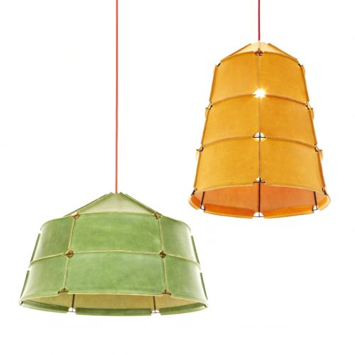 Discover all the information about the product pendant lamp contemporary leather hive dare studio and find where you can buy it