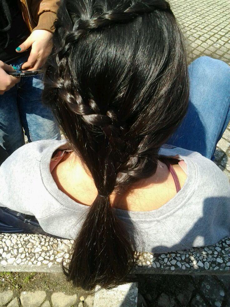 My friend's hair