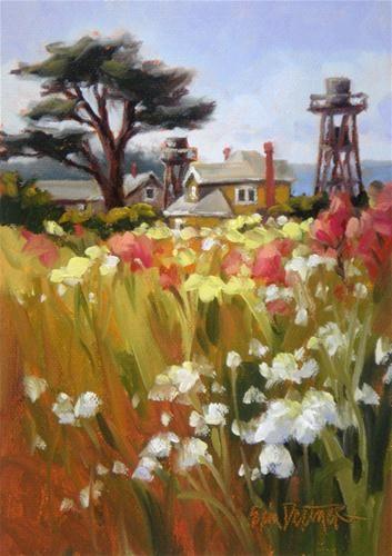 Billowing blossoms original fine art for sale erin for Original fine art paintings for sale