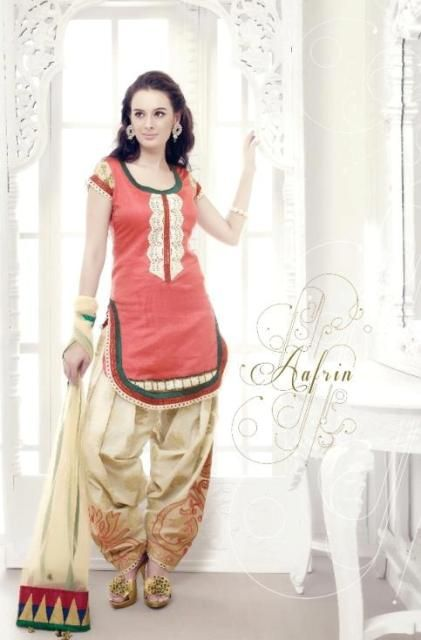 Latest New Designer Collection 2012, Patiala Salwar Kameez Collection