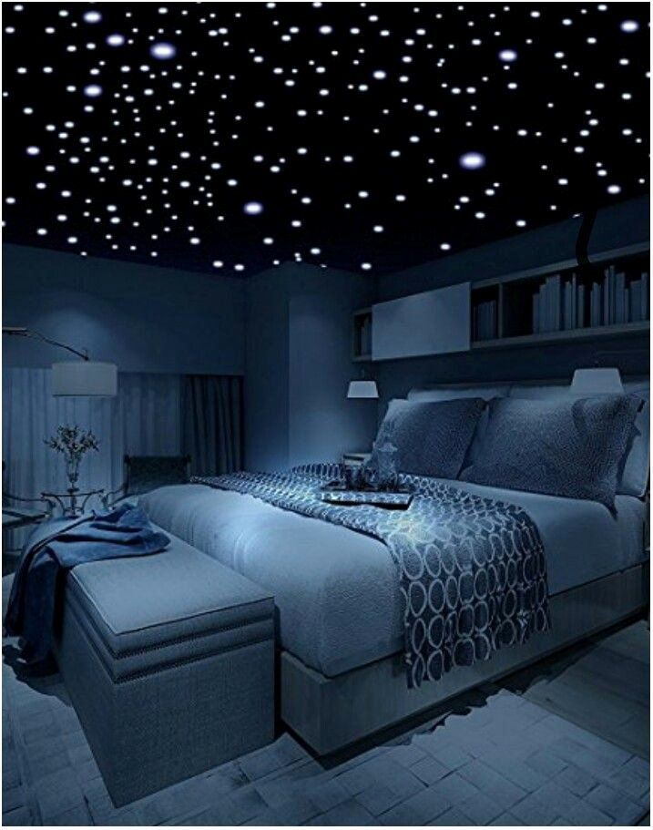 Stars On Bedroom Ceiling Elegant A Bedroom Ceiling With A Multitude Of Glow In The Dark Stars Bedroom Ceiling Remodel Bedroom Star Ceiling