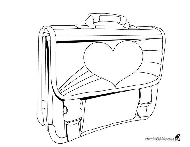 Color Online School Bags For Girls Coloring Pages For Girls School Coloring Pages