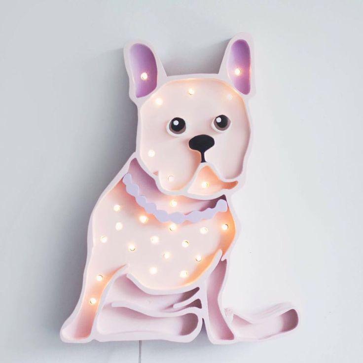 Lampa BULDOG marki Little Lights #ladnerzeczy #targirzeczyladnych #ladnerzeczydziejasiewinternecie #polishdesign #design #kids #dzieci#pokojdziecka