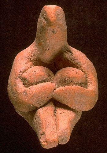 Indus Valley Figurine Seated male figure