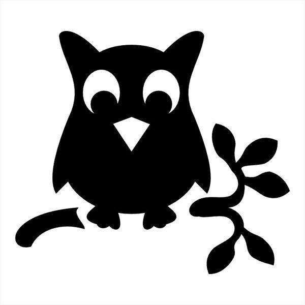 Owl Glitter Tattoo