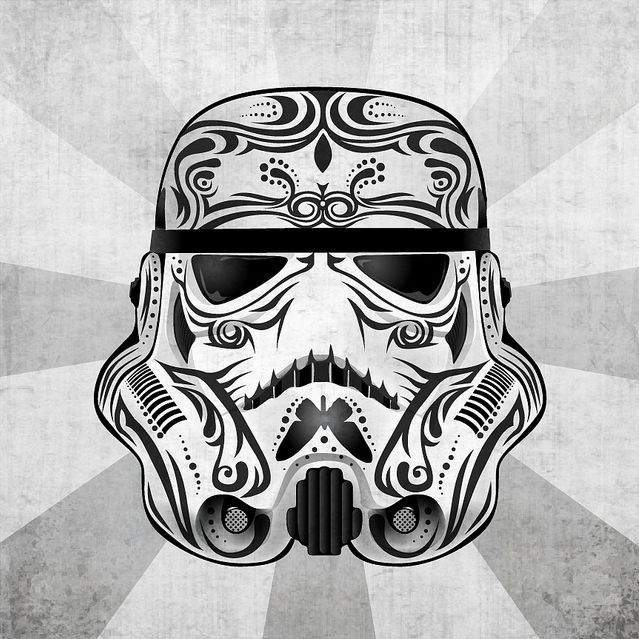 #StarWars creativity  from a designer called Captain Magnificent (or John Karpinsky as his name is)