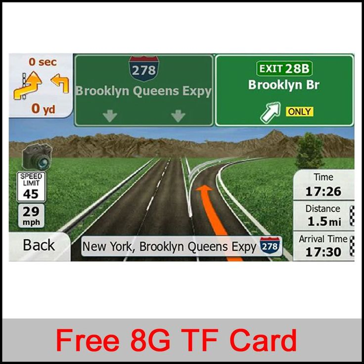 8G gps maps TF/SD card latest Map for WinCE/Android car gps navigation map Europe/Russia/Belarus/USA/CA/AU/Israel Car gps maps