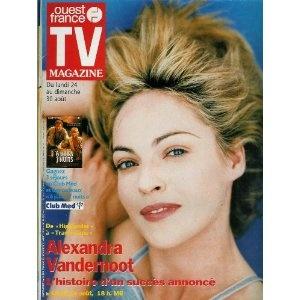 TV Magazine Ouest-France (n°16335) du 21/08/1998 - Alexandra Vandernoot - Monica Belluci - Ewan Mc Gregor - Grace De Capitani - ... [Magazine mis en vente par Presse-Mémoire]
