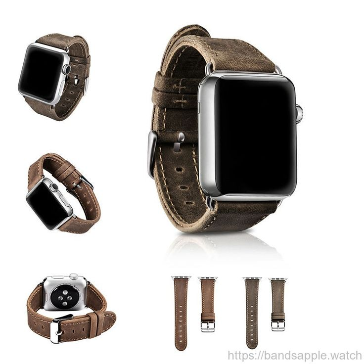 Band for apple watch Series 1 2 Crazy Horse Leather strap for iwatch 2 retro genuine leather classic design 38mm 42mm //Price: $69.58 & FREE Shipping // #applewatchmurah #applewatches #applewatchfans #applewatchedition #applewatchhermes #bandsapplewat