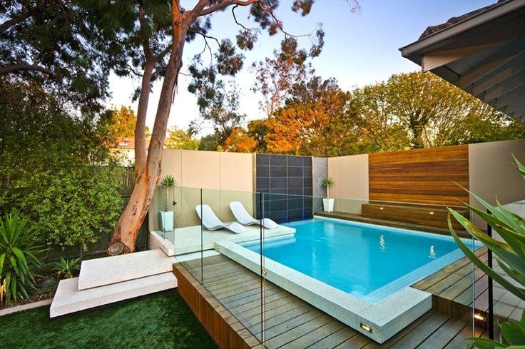 Las 25 mejores ideas sobre piscinas fibra de vidrio en - Coste construccion piscina ...