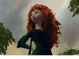 Merida, prinses van Schotland en meesteres van de boog in Brave