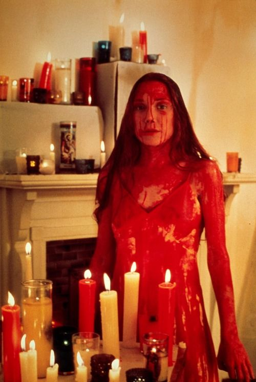"""Have you ever had one of those days where nothing goes right?"" - Sissy Spacek as Carrie, 1976"