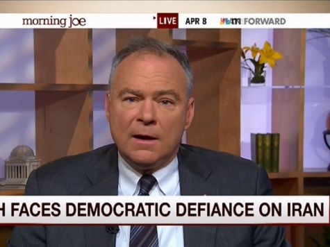 Dem Sen Kaine: WH Doesn't Want Congress 'Weighing In' on Iran Deal