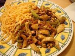 soya soslu sebzeli tavuk