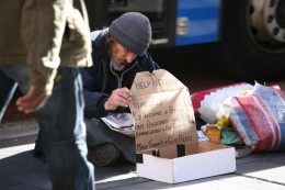 """Ways to help the homeless.  These are some things to do if, like me, you feel sad and helpless when you see someone down on their luck, and don't know how to help.  My favorite was """"share a meal.""""  I have also been thinking of buying a box of thermacare hand warmers to give people in winter who look cold.  Or, next time I am rich, maybe a few $5 gift cards to McDonald's or Subway or something.  Anyone else have ideas?"""