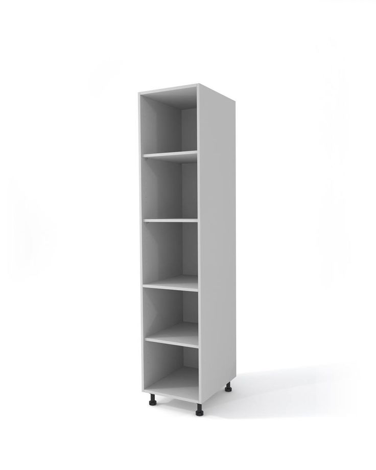 Gray high cabinet h-204 cm