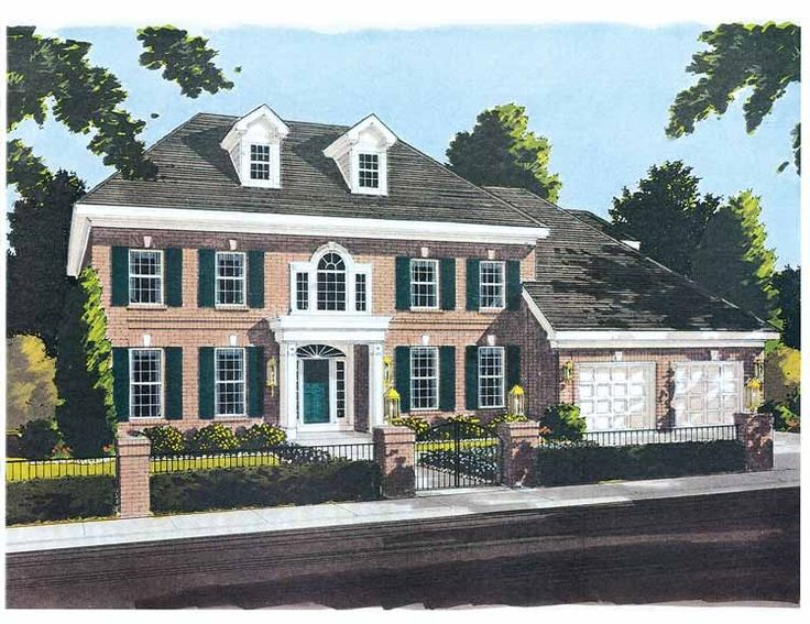 104 Best Colonial Style Homes Images On Pinterest