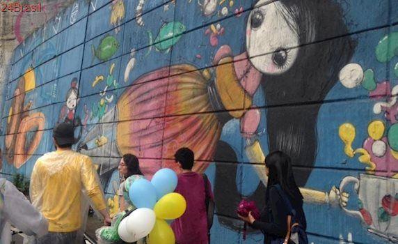 Polêmica em SP: Após apagar grafites, Doria anuncia Museu de Arte de Rua